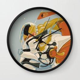 Cicada Squad Wall Clock