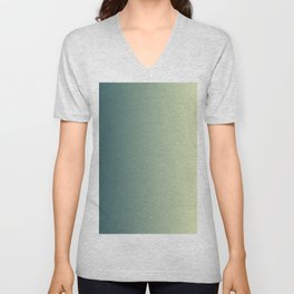 Green Gradient Unisex V-Neck