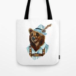 Bear-Varian  Tote Bag