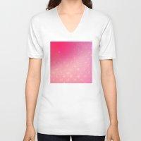 fleur de lis V-neck T-shirts featuring Fleur de Lis by Mr & Mrs Quirynen