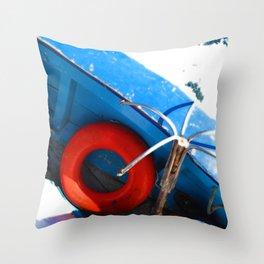 Lifesaver Throw Pillow