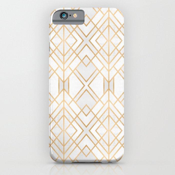golden geo iphone case