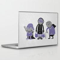 superheroes Laptop & iPad Skins featuring Superheroes! by monrix