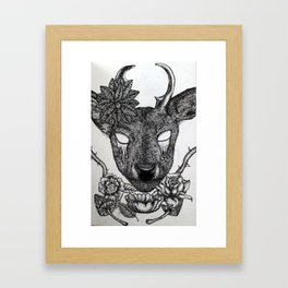 Guardian of the Forest Framed Art Print