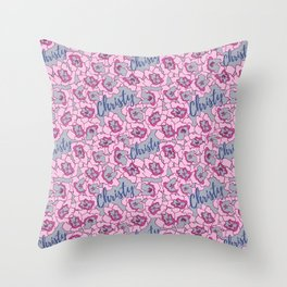 Christy Pouch Collection Throw Pillow