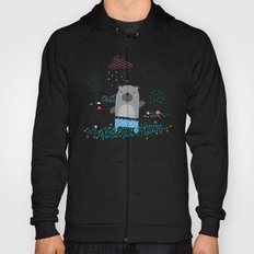 Bear In the Garden Hoody