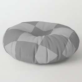 Grey Rhombus Floor Pillow