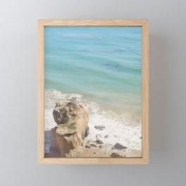 El Matador Beach, California Framed Mini Art Print