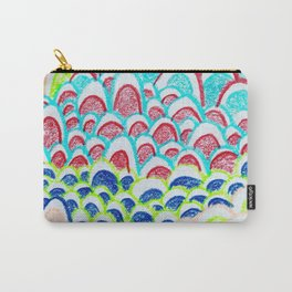 Colorful Doodle Carry-All Pouch