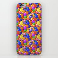 pills iPhone & iPod Skins featuring Pills by Skletch