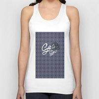geo Tank Tops featuring GEO  by NENE W