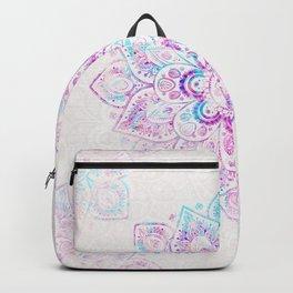 Winter Fiery Mandala Backpack