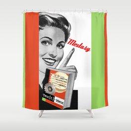 Textmex/Mextasy Propaganda Semiotic Artifact! Shower Curtain