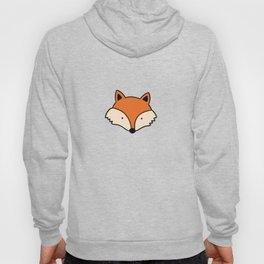 Simple red fox Hoody