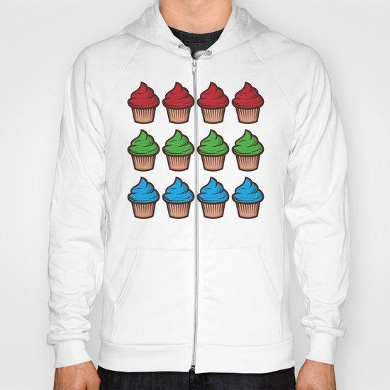 RGB Cupcakes Hoody