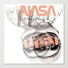 SpaceGirl Canvas Print