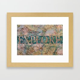 Explore by Heather Saulsbury Framed Art Print
