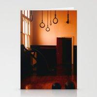 gym Stationery Cards featuring Gym by Flashbax Twenty Three