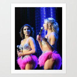 Jenna Johnson and Emma Slater Art Print