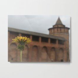 Ancient Slavic dandelion Metal Print