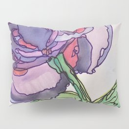 Purple and Pink Pillow Sham