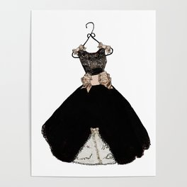 My favorite black dress Poster