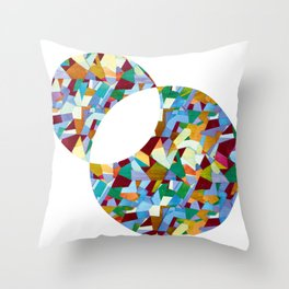 Mozart abstraction Throw Pillow