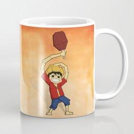 Origami Pirate Adventurer Coffee Mug