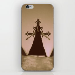 damned girl iPhone Skin