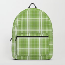 Spring 2017 Designer Colors Greenery Tartan Plaid Backpack