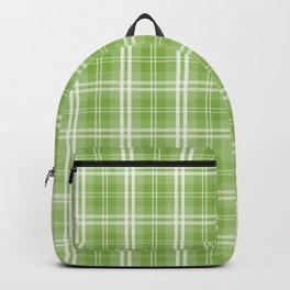 Spring 2017 Designer Colors Greenery Tartan Plaid Backpack