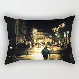 Warm Nights in Lisbon Rectangular Pillow