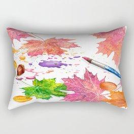 Nature's Artistry Rectangular Pillow