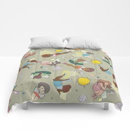 For the love of Books 02 Comforters