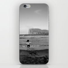 Dancing with the ocean iPhone Skin