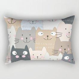 CAT #4 Rectangular Pillow