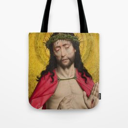 Christ Crowned with Thorns by Dirk Bouts Tote Bag