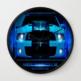 Mustang Shelby GT500 2013 Wall Clock