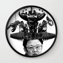 Kim Jong il Wall Clock
