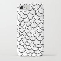 angel wings iPhone & iPod Cases featuring angel wings by her art