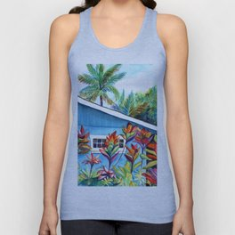 Hanalei Cottage Unisex Tank Top