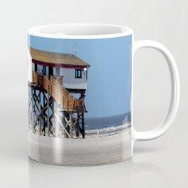 Beach at the North Sea, Sankt Peter Ording Coffee Mug