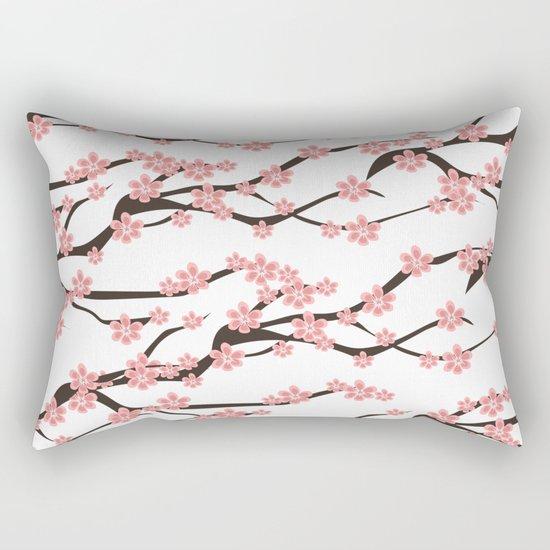 Sakura pattern Rectangular Pillow