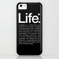 Life.* Available for a limited time only. iPhone 5c Slim Case