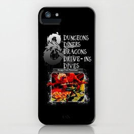 Dungeons & Dragons Stylized iPhone Case