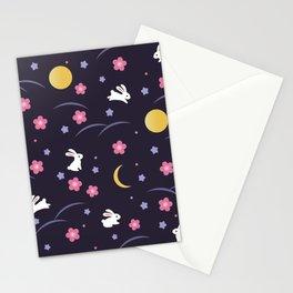 Moon Rabbits V2 Stationery Cards