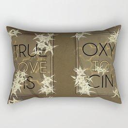 True Love is Oxytocin Rectangular Pillow