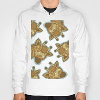giraffes Hoodies featuring Giraffes by BerryT