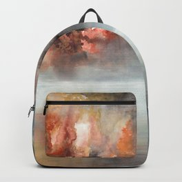 Raging clouds Backpack