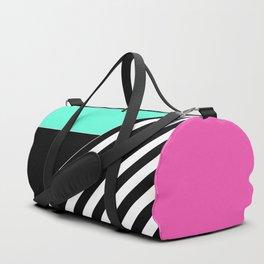Asymmetrical patchwork 2 Duffle Bag